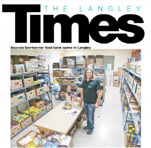 Langley Times - Sources Langley Food Bank - Article 1