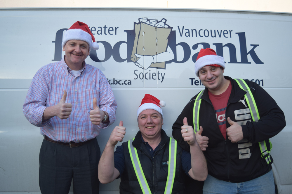 Greater Vancouver Food Bank staff