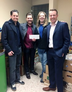 Schreder Royal LePage Charity Hockey Game Donation