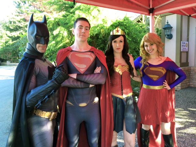 Superheroes Entrance