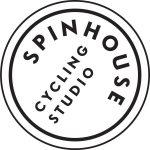 SpinHouse logo white